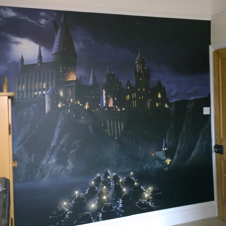 Harry Potter Wall Mural Wallpaper ...